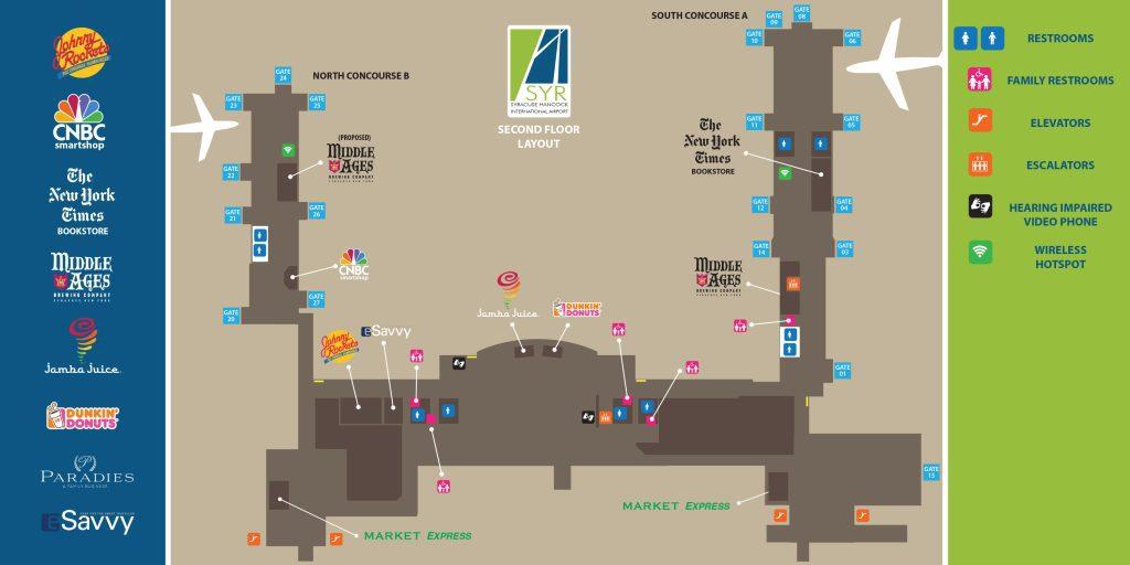 Second Floor Map COLOR-FINAL