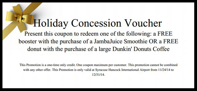 Holiday Concessions Voucher Website