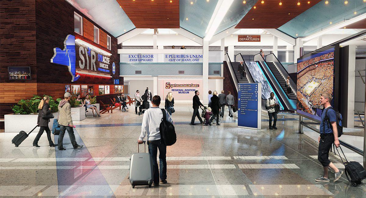 Terminal Improvements Syracuse Hancock International